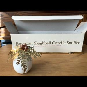 Vintage Department 56 Christmas Candle Snuffer